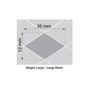 Bilde av Alugitter, 100x30cm, grovmasket
