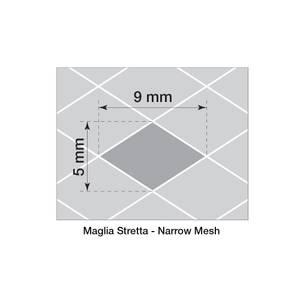 Bilde av Alugitter, 125x20cm, finmasket