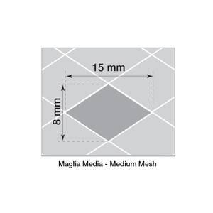 Bilde av Alugitter, 125x30cm, stormasket