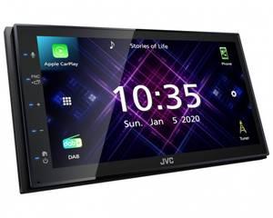 Bilde av JVC KW-V565DBT DAB/USB/BT/CarPlay/AndroidAuto...
