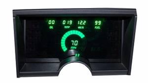 Bilde av Chevrolet/GMC Trucks (92-94), instrumentpanel digital
