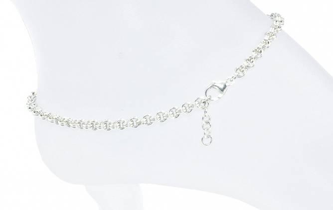 Bilde av Ankellenke i sølv