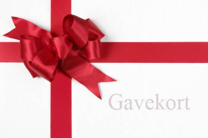 Bilde av Gavekort kr. 500,-