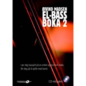 Bilde av Elbassboka 2 + CD
