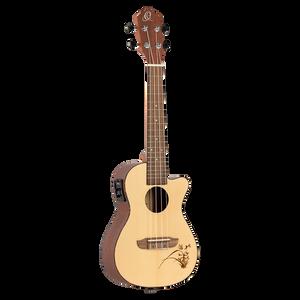 Bilde av Ortega RU5CE Concert ukulele m.mik, RU series