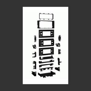 Bilde av METRA Monteringsramme 1-DIN  GM Multi-Kit (1982 - 2005)