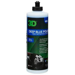 Bilde av 3D Deep Blue Polish 473ml – Metallpolish