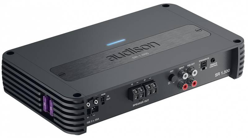 Audison SR mono forsterker, 1000 Watt RMS