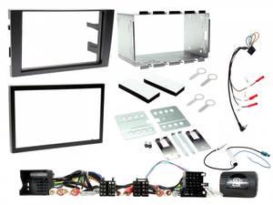Bilde av ConnectED EDAU7001, komplett 2-DIN monteringskit, A4