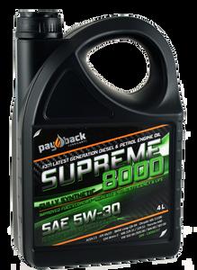 Bilde av Payback #371B Supreme 8000 5W30  4Ltr Dunk
