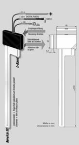 Bilde av ANTENNENSYSTEME DAB-antenne - SMB