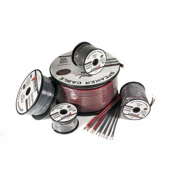 4 CONNECT 6mm2 høyttalerkabel, 100% ren kobber