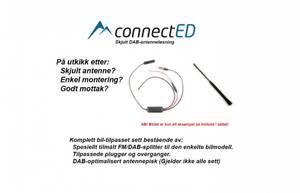 Bilde av ConnectED skjult DAB-antenneløsning v2. Audi (2009 - 2017) Conce