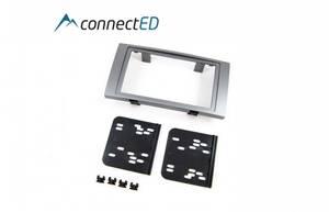 Bilde av ConnectED monteringsramme 2-DIN Ford - Rektangulær - Sølvgrå