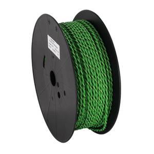 Bilde av Installasjonskabel, 2x2.5mm2 Grønn/Grønn-sort, tvunnet