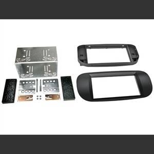 Bilde av CONNECTS2 Premium monteringskit 2-DIN  FIAT 500 (2005-->) Sort