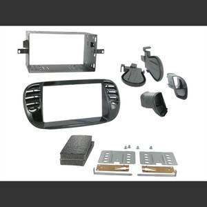 Bilde av CONNECTS2 Premium monteringskit 2-DIN  FIAT 500 (2008-->) m/AC -