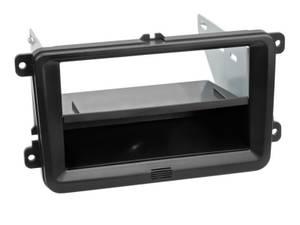 Bilde av Radioramme VW Skoda Seat 2DIN m/lomme og sidebraketter