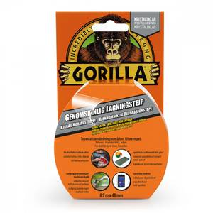 Bilde av Gorilla Tape Clear Repair  8,2Meter
