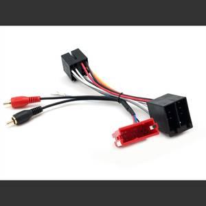 Bilde av CONNECTS2 aktivt ISO-adapter Audi m/mini-ISO og halv aktivt syst