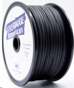 Bilde av 18 Gauge OFC høyttalerkabel sort matt 1m 0.75mm2