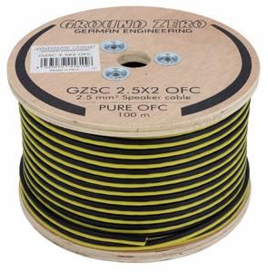 Bilde av Ground Zero GZSC 2.5X2 høyttalerkabel 2,5mm2 OFC