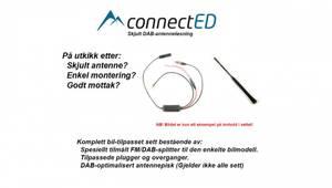 Bilde av ConnectED skjult DAB-antenne (SMB) Hyundai (1995 -->) Se egen li