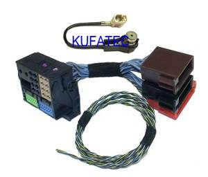 Bilde av Kufatec 33777, ISO & antenne-adapter sett(Fakra->ISO)