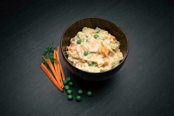 Bilde av REAL Turmat Laks med pasta og