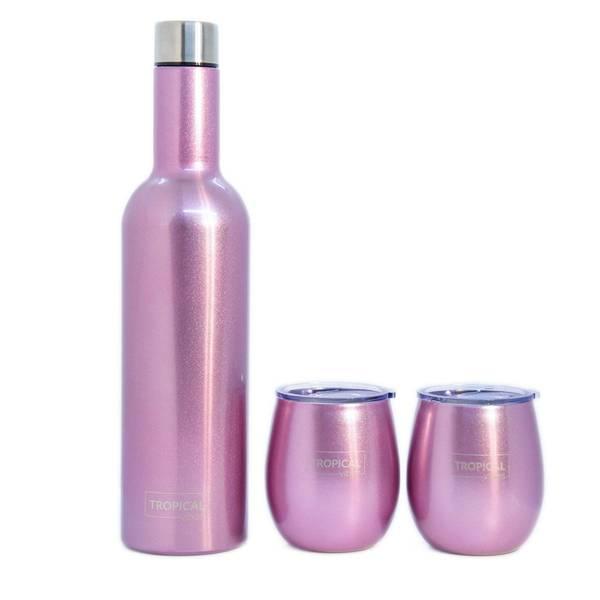 Bilde av Tropical VinSett - Sparkling Pink - Plain
