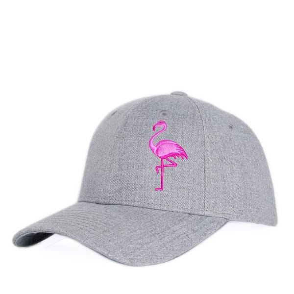Bilde av Baseball Caps - Flamingo - Grå Melert