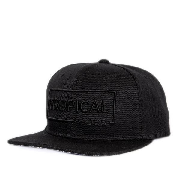 Bilde av Flat Snapback Caps - Tropical Sort