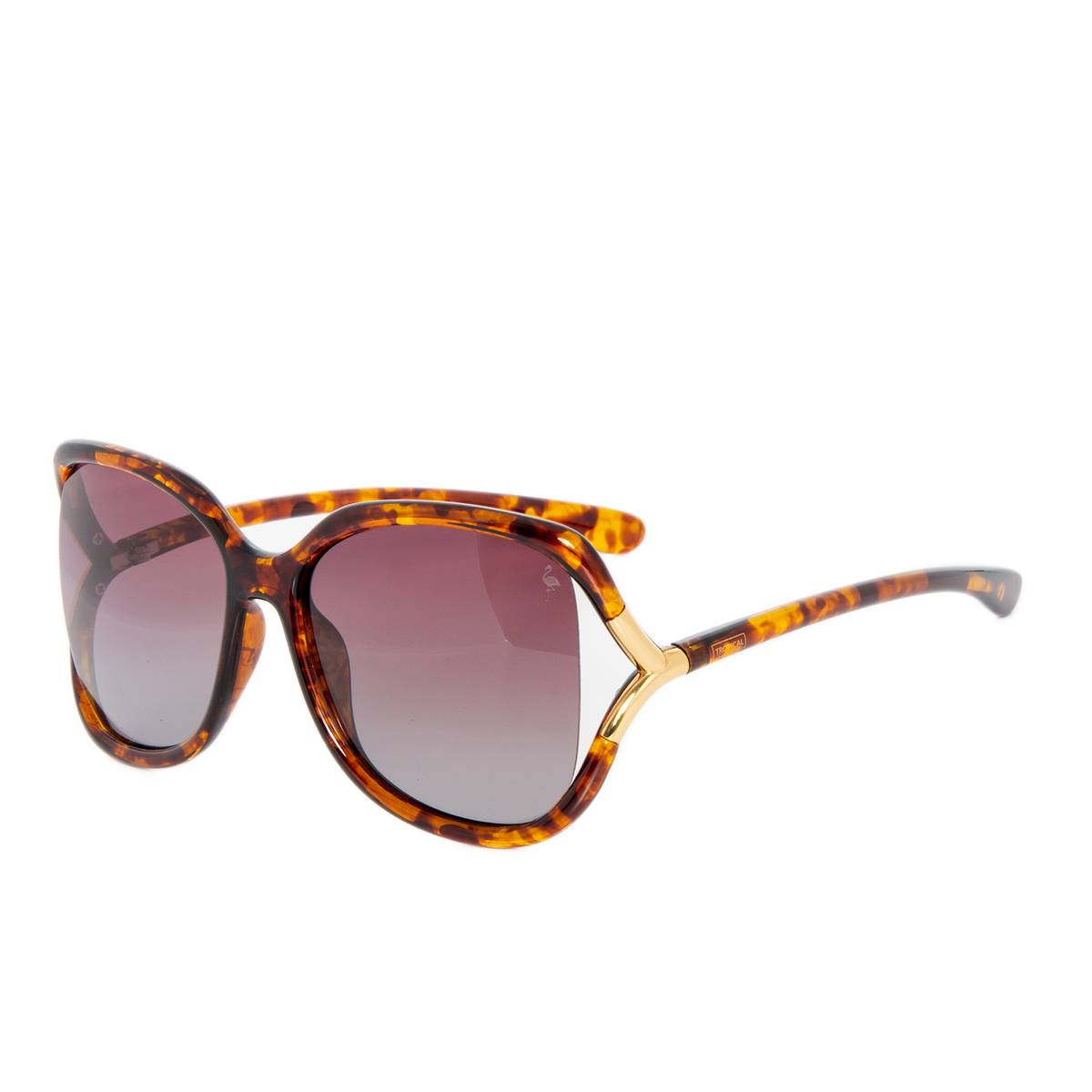 St. Tropez Vibes - Tortoise/Brown Faded