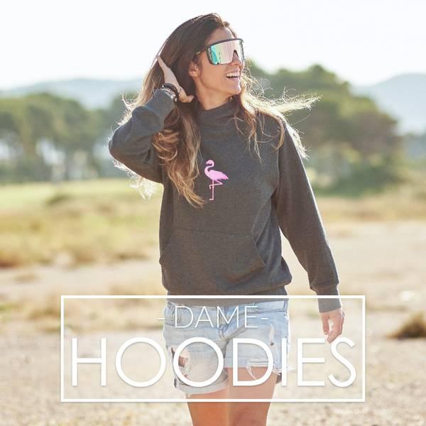 Digge hoodies til Dame fra Tropical Vibes. Nytt norsk merke med tilhørighet i Hemsedal & Stryn.