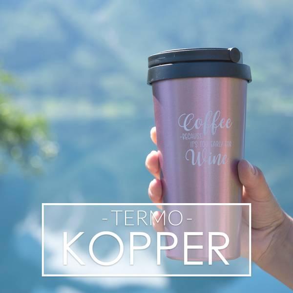 Termokopper til Vin og Kaffe fra Tropical Vibes!