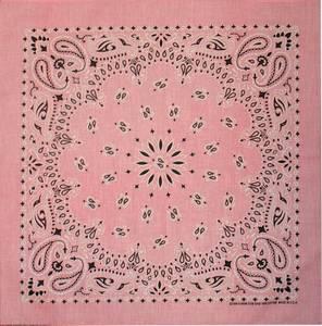 Bilde av Light Pink Paisley Bandanna