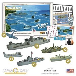 Bilde av Cruel Seas US navy fleet