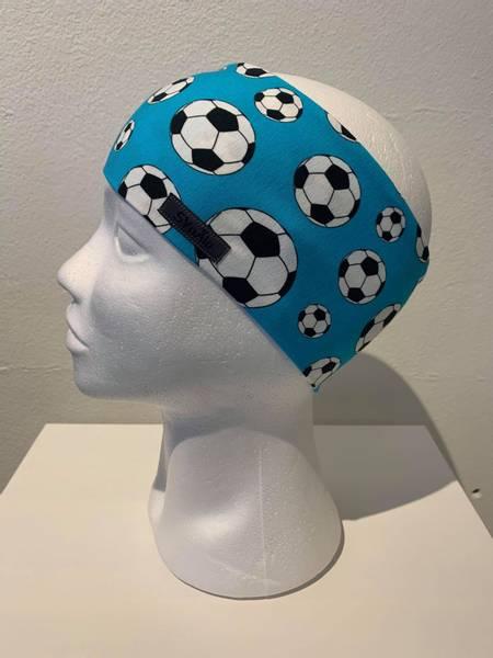 Fotballer i blått