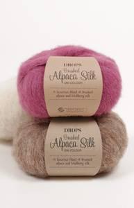 Bilde av Drops Brushed Alpaca Silk
