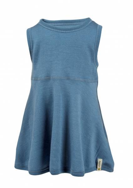 Ullkjole babywool blå