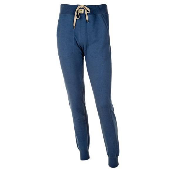 Bukse i ullfrotte fra Janus Herre blå