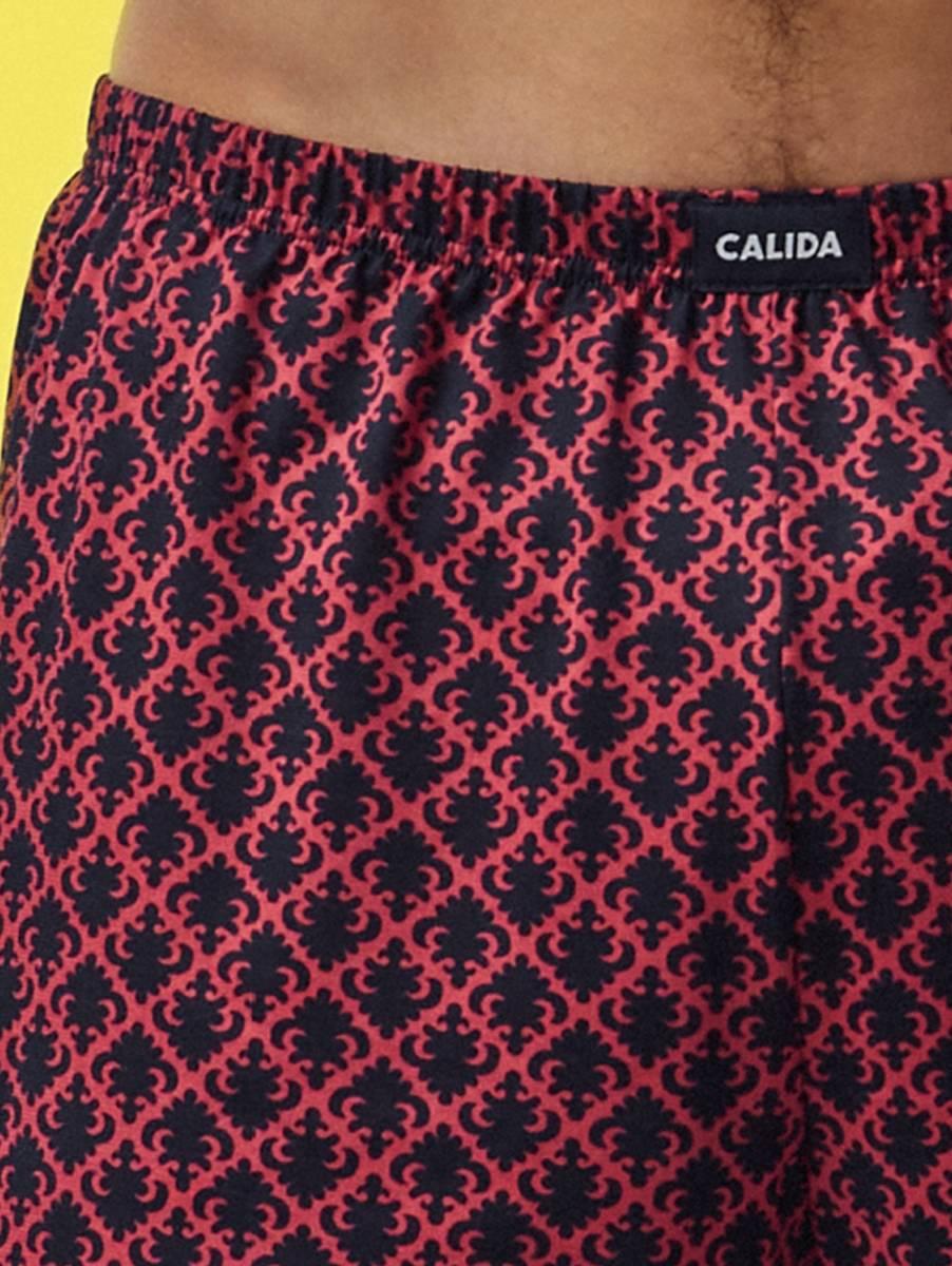 Calida Jubileum Boxer Shorts, Str S-XXL, Red