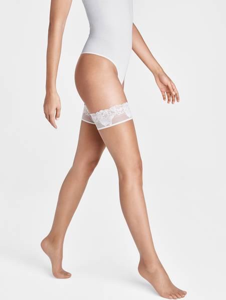 Bilde av Wolford Nude 8 Lace Stay-Up, Str XS-L, Fairly Light