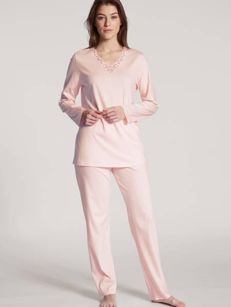 Bilde av Calida 100% Premium Cotton Pyjamas, Str 36-54, Pink