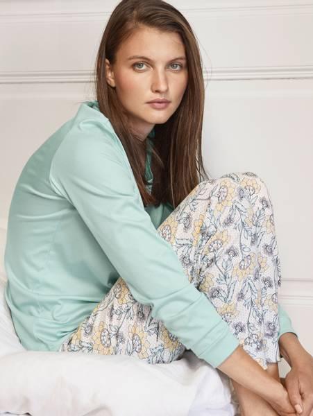 Bilde av Calida Supima Cotton Pyjamas, Str 36-50, Mint