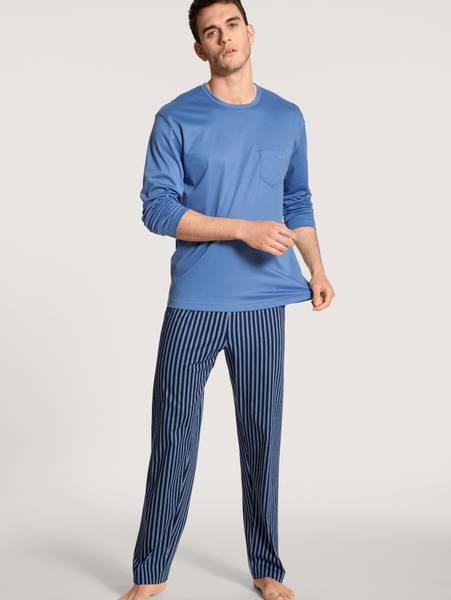Bilde av Calida Premium Cotton Pyjamas, Str M, XL og XXL igjen