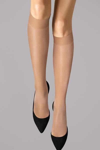 Bilde av Wolford Satin Touch 20 Knee-Highs, Str S-M, Fairly Light