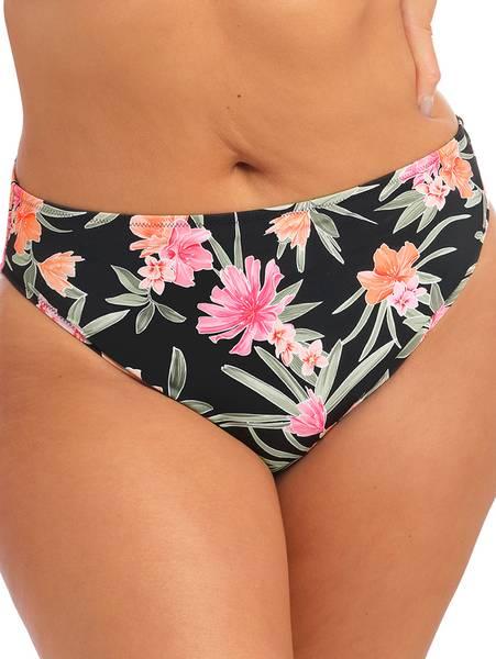 Bilde av Elomi Dark Tropics Mid Rise Bikini Brief, Str 44-52 igjen
