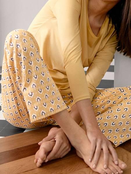 Bilde av Calida 100% Premium Cotton Pants, Str 36-50, Yellow