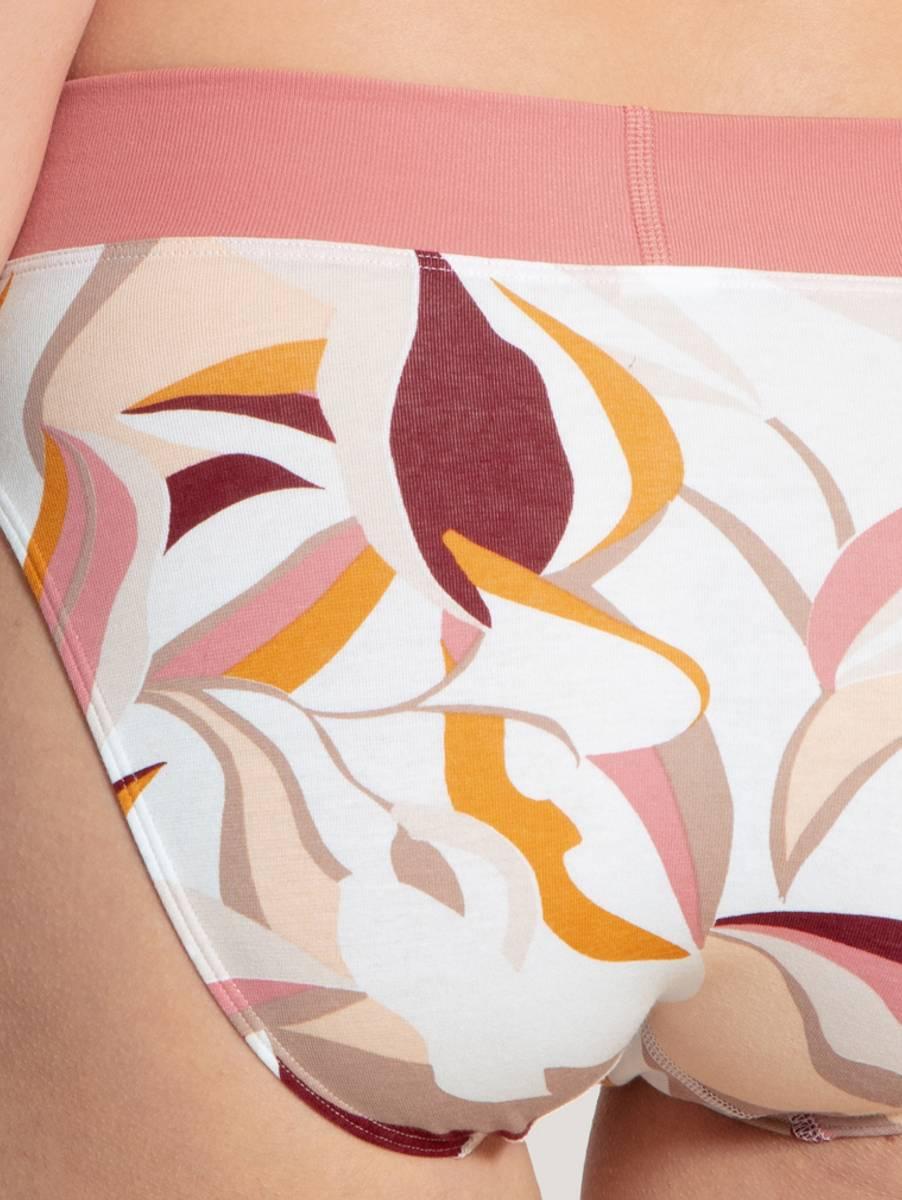 Calida Elastic High Waist Brief, Str 36-50, Rosy Glow